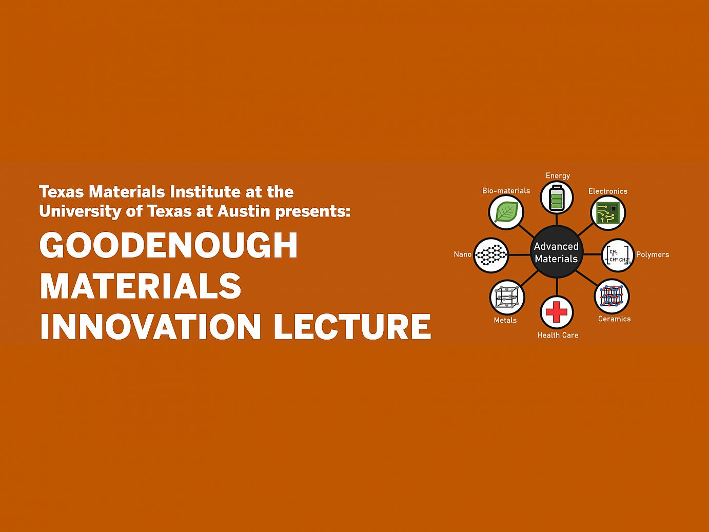 flyer image for lecture includes title and graphic